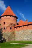 Trakai Insel-Schloss Trakai litauen stockfotos