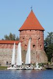 Trakai Island Castle Stock Image