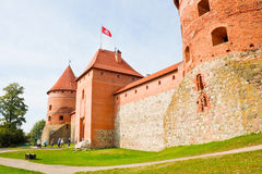 Trakai Island Castle Royalty Free Stock Photography