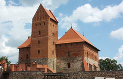 Trakai Island Castle,Lithuania Royalty Free Stock Photos