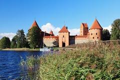 Trakai Island Castle. Royalty Free Stock Photos