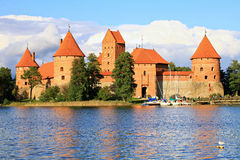 Trakai Island Castle. Stock Photography
