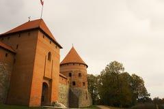 Trakai Island Castle in Lithuania Royalty Free Stock Photos