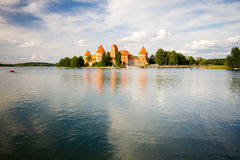Trakai Island Castle in Lithuania Royalty Free Stock Image