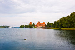 Trakai Island Castle, Lithuania Stock Photography