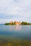 Trakai Island Castle, Lithuania Royalty Free Stock Photo
