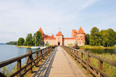 Trakai Island castle, Lithuania Royalty Free Stock Photography