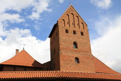 Trakai Island Castle in Lithuania Royalty Free Stock Photography