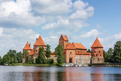 Trakai Island Castle,Lithuania Royalty Free Stock Image