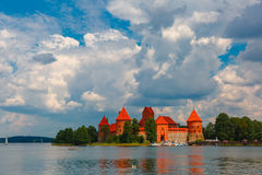 Trakai Island Castle stock images