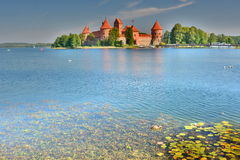 Trakai Island Castle. Trakai. Lithuania Stock Images