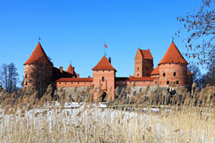Trakai Island Castle. Royalty Free Stock Images