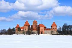 Trakai Island Castle. Stock Photo
