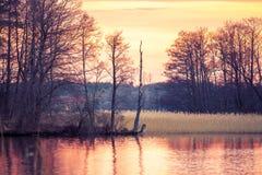 Trakai landscape Royalty Free Stock Photo