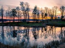 Trakai landscape Stock Images
