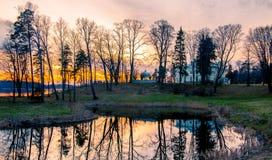 Trakai landscape Royalty Free Stock Images