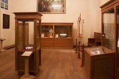 TRAKAI, LITHUANIA - JANUARY 02, 2013: Interior of the Museum of Sacred Art. Interior of the Museum of Sacred Art part of the Trakai Historical Museum, opened in stock images