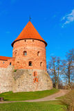 Trakai, Lithuania: old defensive tower Royalty Free Stock Photos