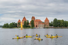 Trakai, Lithuania Summer-2013 zdjęcie stock