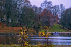 Trakai, Lithuania 2018-11-02, Trakai history museum, city with big history and traditions, one of the famous places for travel. Trakai, Lithuania 2018-11-02 stock images