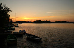 Trakai/Lituania Fotografía de archivo
