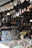 Trakai,Llithuania-august 27:Souvenirs Shop from Trakai in Lithuania Stock Image