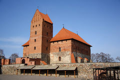 Trakai medieval castle (Lithuania) Stock Photography