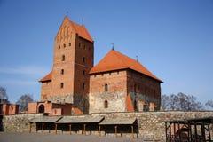 Trakai medieval castle (Lithuania) Stock Photography