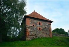 Trakai półwysepa kasztel, Trakai, Lithuania Zdjęcie Royalty Free