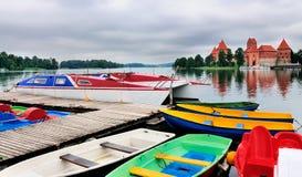 Trakai Schloss Lizenzfreies Stockfoto