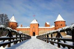 Trakai-Schloss Lizenzfreie Stockbilder