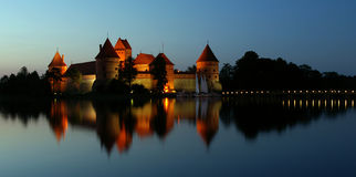 Trakai Schloss Lizenzfreie Stockfotografie