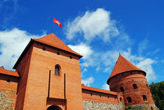 Trakai Schloss in Litauen Stockbilder