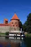 Trakai, year 2012. The little historic town in Lithuania, Trakai, year 2012 Royalty Free Stock Photo