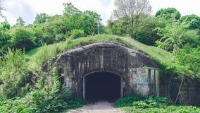 Trakanov-Fort, Rivne-Region, Ukraine stockbilder