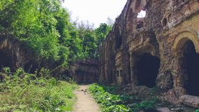 Trakanov-Fort, Rivne-Region, Ukraine lizenzfreie stockfotografie