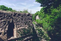 Trakanov-Fort, Rivne-Region, Ukraine Lizenzfreies Stockfoto