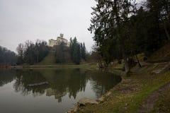 TrakoÅ-¡ Ä  ein Schloss lizenzfreies stockbild