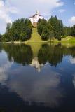 TrakoÅ ¡ Ä ‡ een mooi kasteel Stock Afbeeldingen