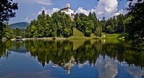 Trakošćan beautiful castle Stock Images