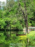 Trakoscan公园 免版税图库摄影