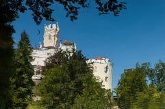 Trakoscan城堡在克罗地亚 免版税库存照片