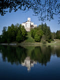 trakoscan的城堡 库存照片