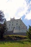 Trakoscan, κάστρο στην Κροατία Στοκ εικόνα με δικαίωμα ελεύθερης χρήσης