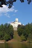 Trakoscan, κάστρο Στοκ εικόνα με δικαίωμα ελεύθερης χρήσης