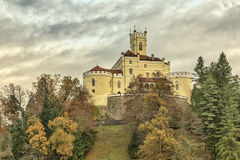 Trakoscan castle in Croatia Stock Photo