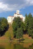 Trakoscan, castle Royalty Free Stock Photo