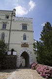 Trakoscan härlig slott Royaltyfria Foton