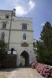 Trakoscan mooi kasteel Royalty-vrije Stock Foto's