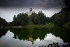 trakoscan slott arkivbilder